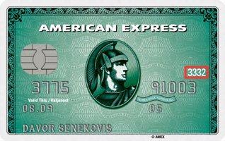American Express Kartica Prednja Strana